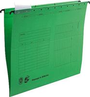 Hängemappen, grün, Natronkarton (RC), für A4, 5 Star 202965