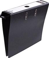Hängeordner, schwarz, Kraftkarton, 80mm 5 Star 764495