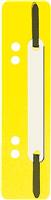 Einhängeheftstreifen kurz, gelb, PP, 150x34mm, 5 Star 777005