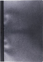 Klemmmappen, schwarz, A4 5 Star 805241