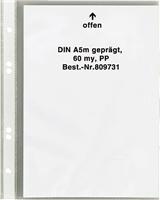 Prospekthüllen DIN A5, genarbt, geprägt, PP, 5 Star 809731