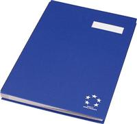 Unterschriftenmappe 20-teilig OFFICE, blau 5 Star 910083