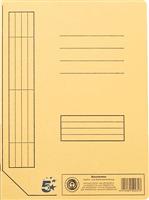 Karton-Schnellhefter, gelb, Inh. 10 5 Star 914425