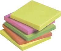 Haftnotizen, neon, 76x76mm, Inh. 12 5 Star 920160