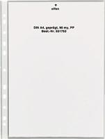 Prospekthüllen, geprägt, Öffung oben, PP, A4, 5 Star 931753