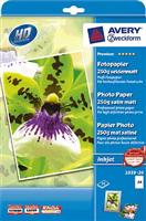 InkJet Fotopapier AVERY Zweckform 2559-20