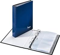 Visitenkartenringbuch bene 221425 dunkelblau