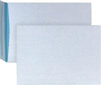 Versandtasche fadenverstärkt weiß blau BONG 4080400