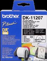 etykiety Brother DK-11207