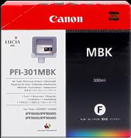 Cartucho de tinta Canon PFI-301mbk