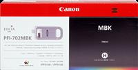 Cartucho de tinta Canon PFI-702mbk