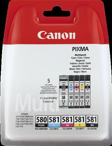 Canon PGI-580 + CLI-581 Multi