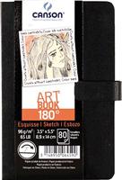 Skizzenbuch, , sw, Hardcover, crobart, 96 g CANSON 6459