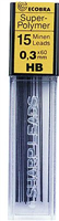 Feinminen 0,3 mm HB ECOBRA 833302