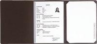 Bewerbungsmappen mit Klemmschiene Exacompta 38601B
