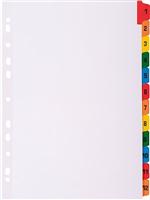 Zahlenregister 12tlg Narture Future 160g Exacompta 1112E