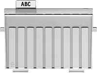 Trennplatten für Karteikästen , lichtgrau, HAN 9027-11