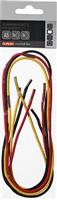 Gummibandset A5 schwarz,gelb,rot, Herlitz 11366242