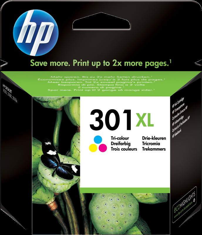 Cartouche d'encre HP 301 XL