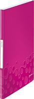 Sichtbuch WOW, 20 Hüllen, pink metallic Leitz 4631-00-23