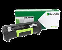 toner Lexmark 51B2000