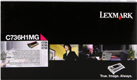 Toner Lexmark C736H1MG