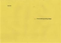 Äußerer Postzustellungsumschlag RNK 2049/50
