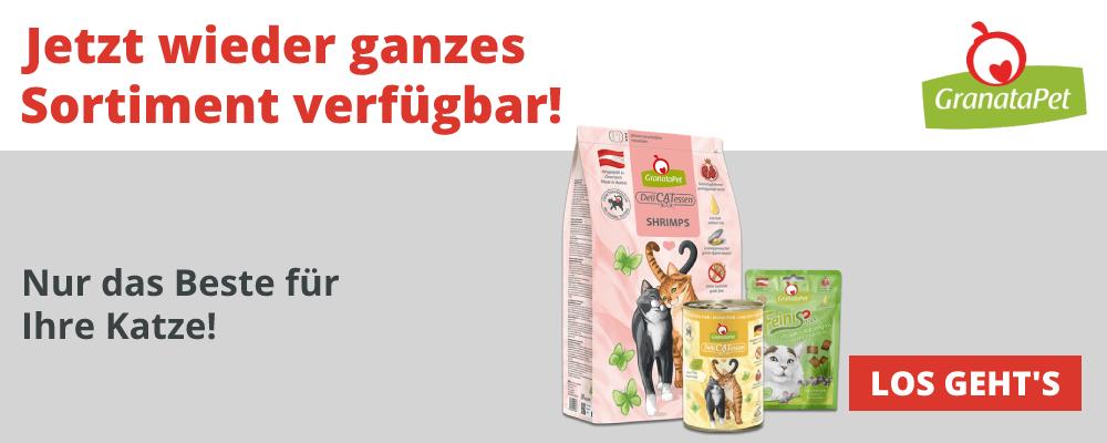 GranataPet - Komplettes Sortiment für die Katze