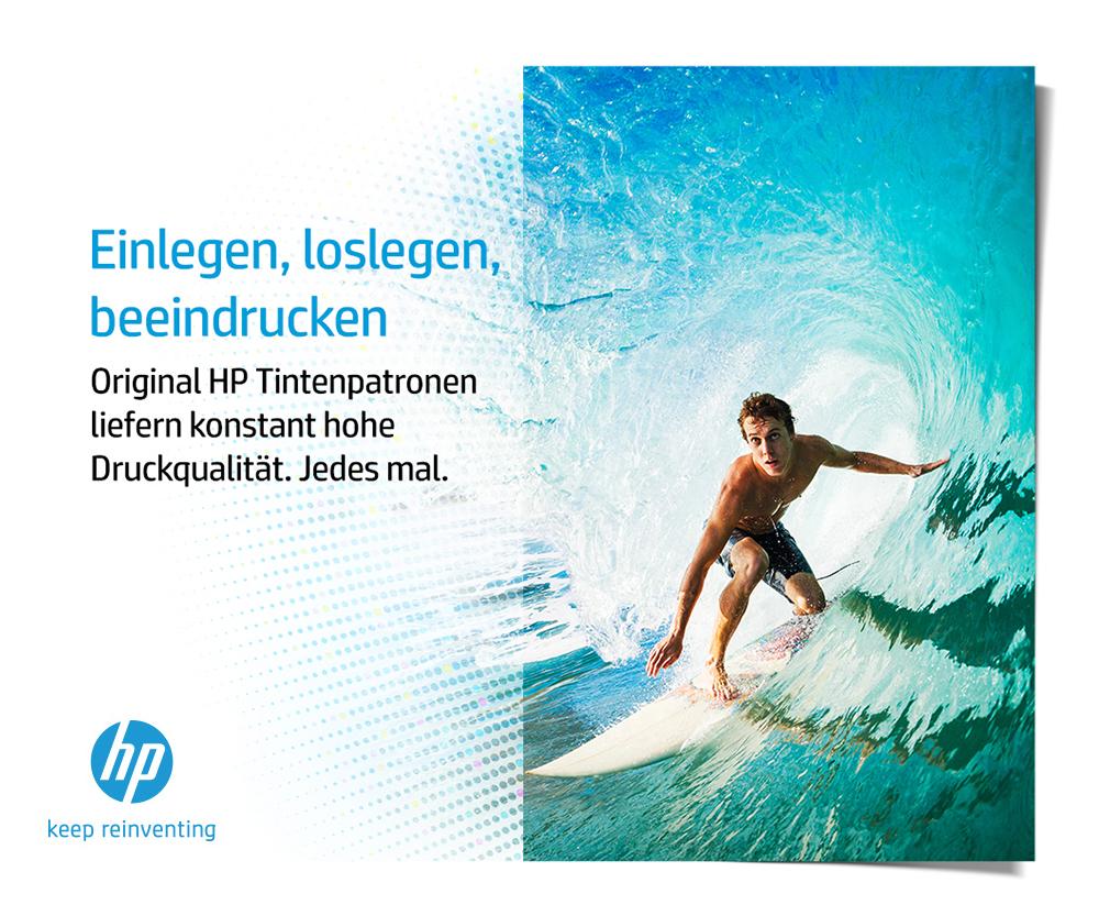 HP Tinte für konstante Qualität