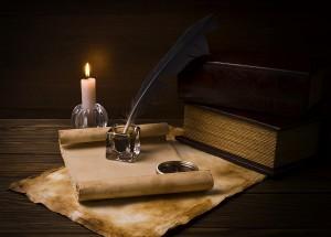 Von geheimen Botschaften und sympathetischer Tinte