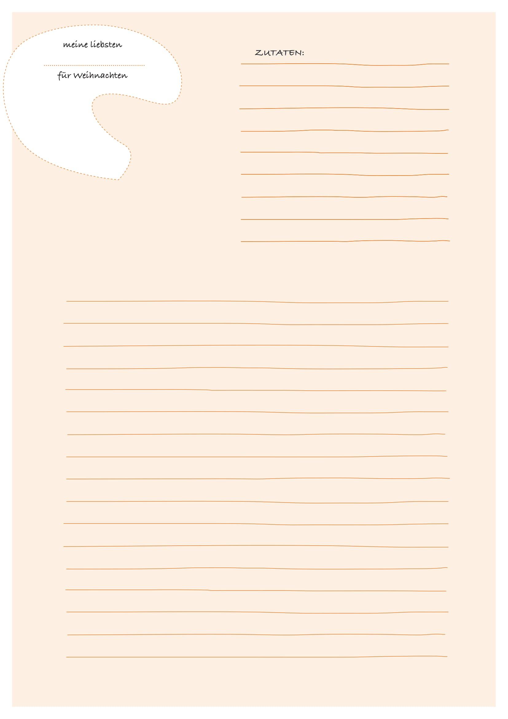 Wunderbar Vorlage Rezeptbuch Zeitgenössisch - Entry Level Resume ...