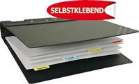 Registertaben , weiß, pp + papier, 12x40mm, 3L 10513
