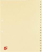 Tauenregister, chamois, TauenPapier, A4 5 Star 233072