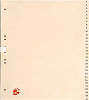 Tauenregister, chamois, TauenPapier, A4 5 Star 234728