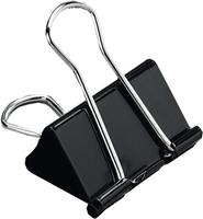 Foldback-Klammern, schwarz, 41mm, Inh. 12 5 Star 296883