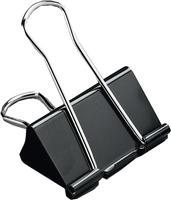 Foldback-Klammern, schwarz, 51mm, Inh. 12 5 Star 296891