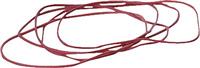 Gummiringe im Karton, rot, Ø 8,5cm, Inh. 1000g 5 Star 700266