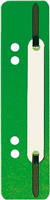 Einhängeheftstreifen kurz, dunkelgrün, PP, 5 Star 777056