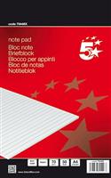 Briefblöcke CF, liniert, 70g 5 Star 79446X