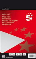 Briefblöcke CF, kariert, 70g 5 Star 794591