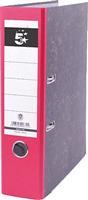 Ordner Wolkenmarmor 80mm, rot, Rücken 80mm 5 Star 794672