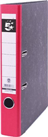 Ordner Wolkenmarmor 50mm, rot, Rücken 50mm 5 Star 794737