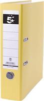 Ordner, gelb, Rücken 80mm 5 Star 794990