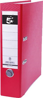 Ordner Kunststoff, rot, Rücken 80mm 5 Star 800112