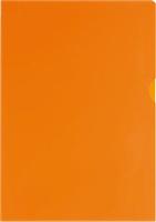 Sichthüllen A4 PP, orange, geprägt, A4, 120my, 5 Star 809863