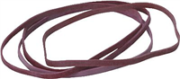 Gummibänder im Karton, rot, 130 x 4 mm, Inh. 500g 5 Star 822418