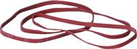 Gummibänder im Karton, rot, 100 x 5 mm, Inh. 50g 5 Star 822442