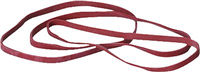 Gummibänder im Karton, rot, 200 x 6 mm, Inh. 500g 5 Star 822515