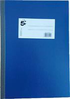 Kladde , blau, liniert, 70g 5 Star 842011