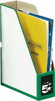 Stehsammler, grün, Karton, 330x250x80mm 5 Star 903520